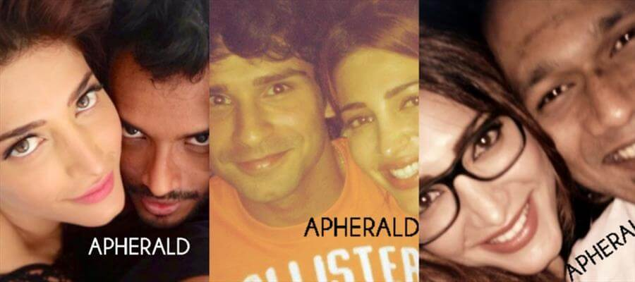 Shruti Haasan EXPOSED with #Suchileaks - Spotted with Various unknown guys!
