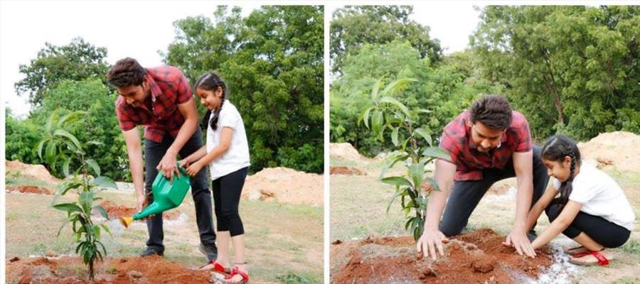 కేటీఆర్ ఛాలెంజ్ ను ఎదుర్కున్న మహేష్ సితార !