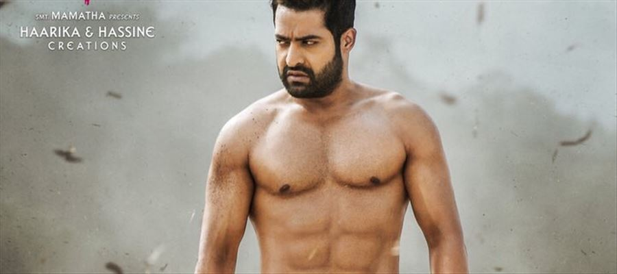 #NTR28FirstLook - Junior NTR flaunts his Six-Pack Abs flawlessly