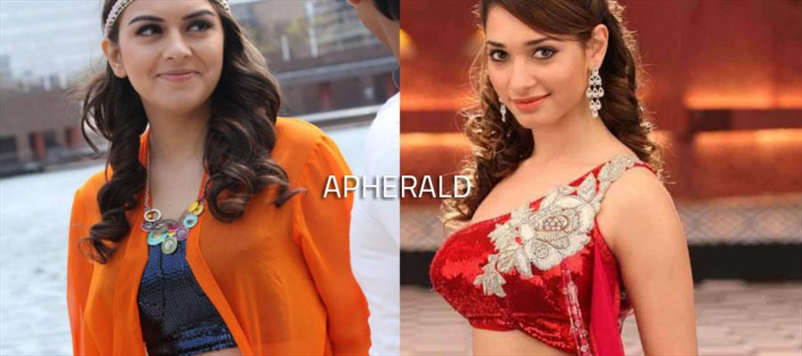 First Hansika, Now Tamannaah - 'Bearded' actor gets 'Lucky'