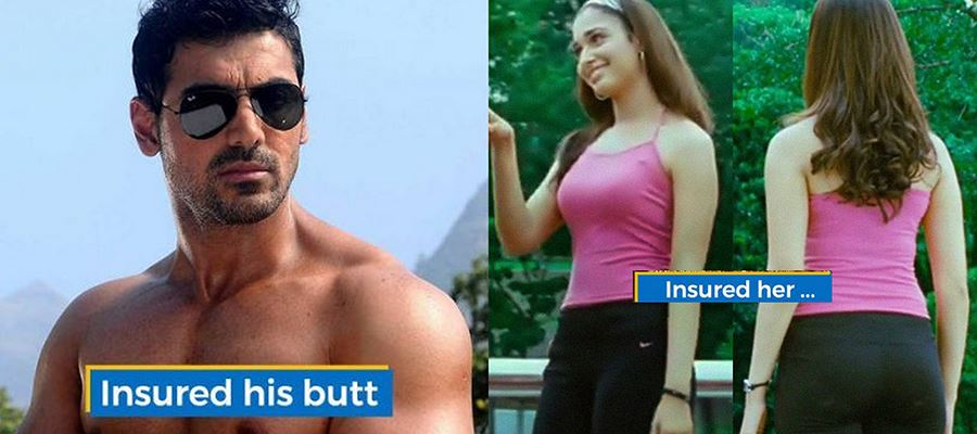 John Abraham insured his Butt - What about other actors and actresses?