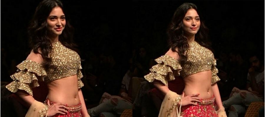 Tamanna sizzles the ramp - View Pics