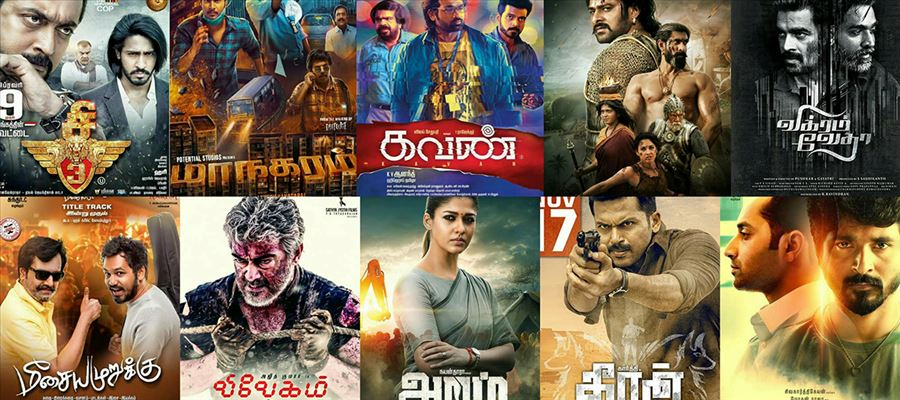 Top 10 SUPER HIT Movies of Kollywood in 2017 (Basedon ROI)