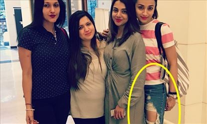 Trisha's Ragged Pant gets more number of Likes...on Social media !!
