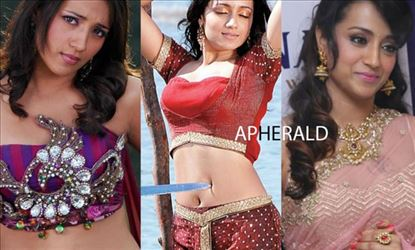 HOT MONSTROUS COLLECTION TEMPTING PHOTOS of TRISHA to Spice your Mood