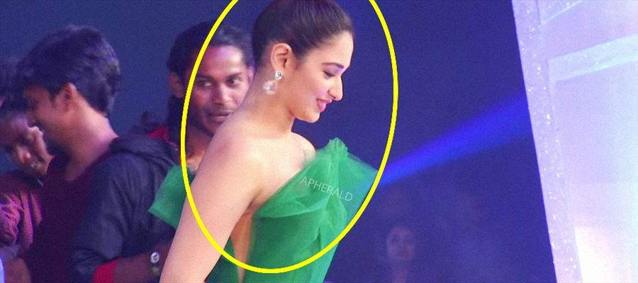 Okay... Seriously... What Dress are you Wearing Tamanna ?? View Photos