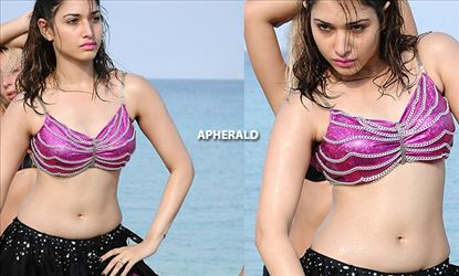 Tamanna getting WET and HOT in BEACH - 16 HIGH CLARITY PHOTOS which you shouldn't miss!