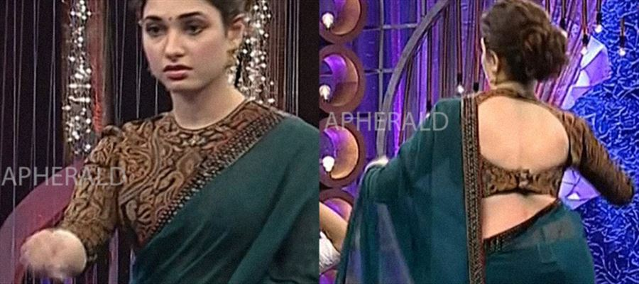 Tamanna captured HOT in a Reality Show Program - Check Hot Pics inside