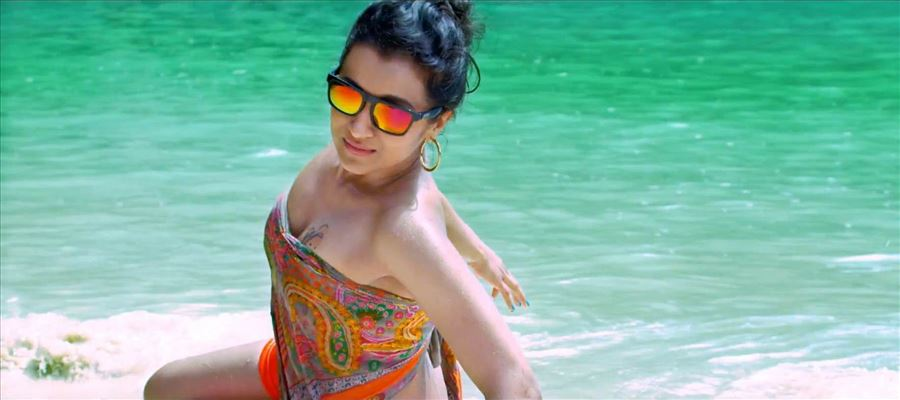 Trisha is ready to show it for the 'First Time' in her decade long Career!