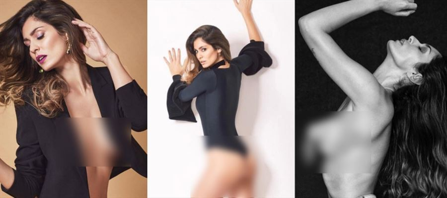 OMG... Lead Actress gone Topless for a Photoshoot - View all Pics inside