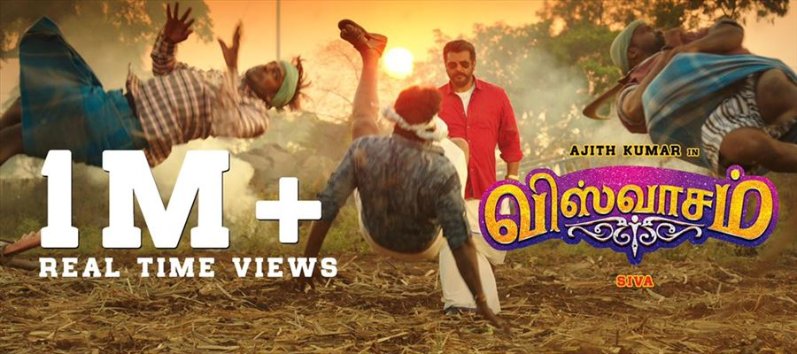 #PartyWithViswasamTrailer - THALA SHOW ALL THE WAY - Perfect Payback TRAILER from Siva and Team