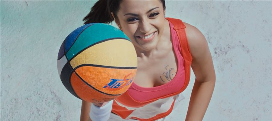 Trisha to show her skills with the Ball