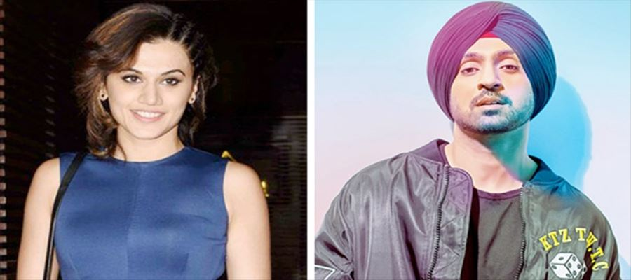 Diljit Dosanjh's next with Tapsee Pannu