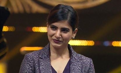 Samantha is in process of completing her pending work for 'Mersal'