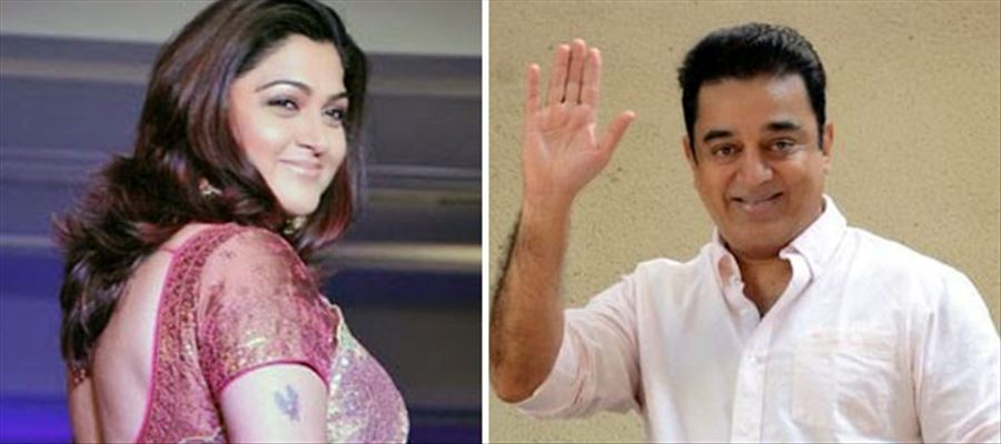 Kushboo not interested in Kamal's Political entry