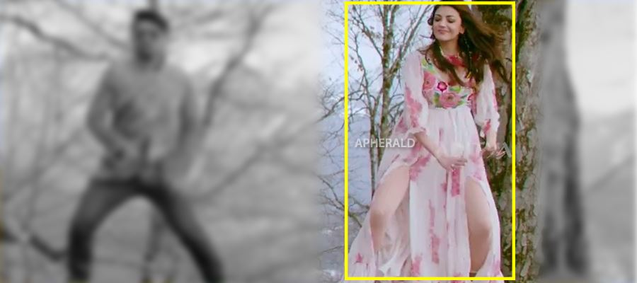 Kajal Dress was 'TORN' and it created 'Oops' while shooting... MORE PHOTOS INSIDE