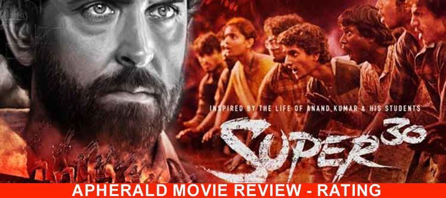 Super 30 Movie Review, Ratings