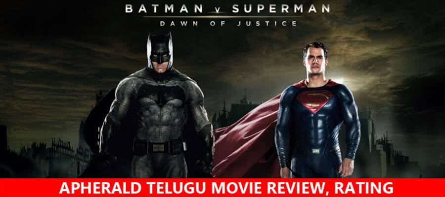 Batman v Superman: Dawn of Justice Movie Review, Rating