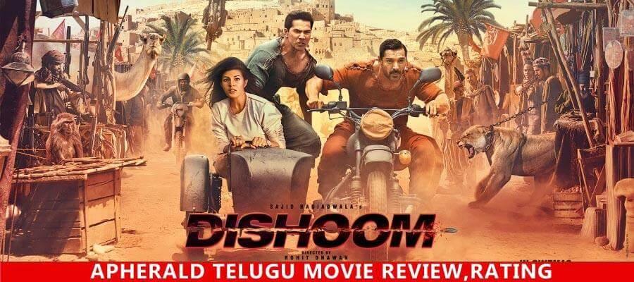 Dishoom Hindi Movie Review, Rating