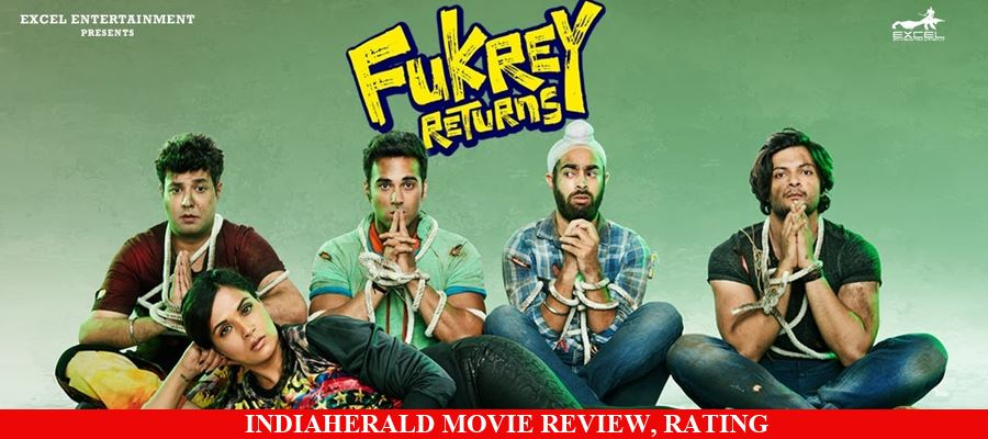 Fukrey Returns Hindi Movie Review, Rating