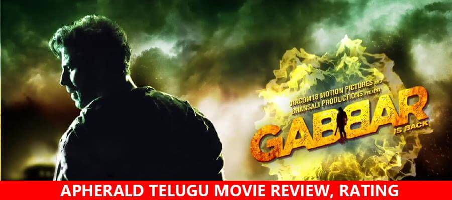 Gabbar Is Back Movie Review, Rating