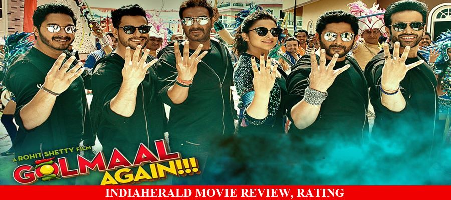 Golmaal Again Hindi Movie Review, Rating