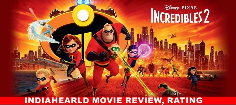 Incredibles 2 Movie Review, Rating