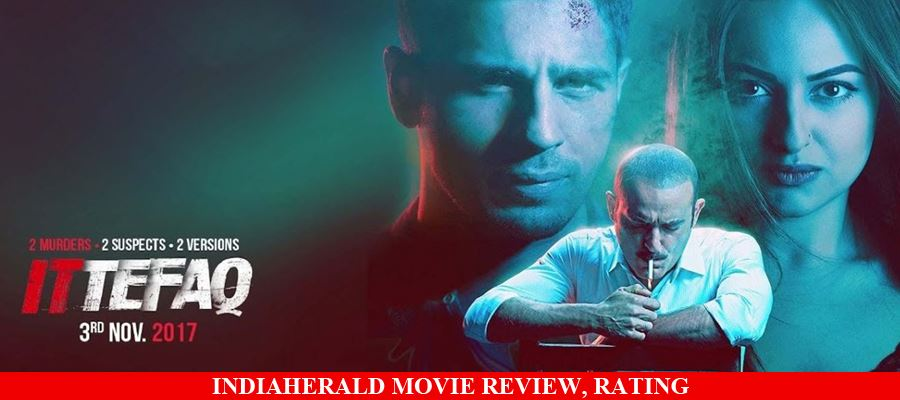 Ittefaq Hindi Movie Review, Rating