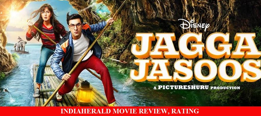 Jagga Jasoos Hindi Movie Review, Rating