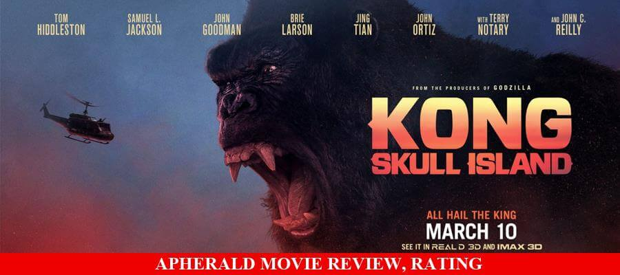 Kong: Skull Island Movie Review, Rating