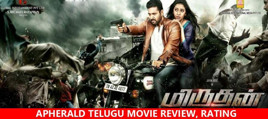 Miruthan Tamil Movie Review, Rating