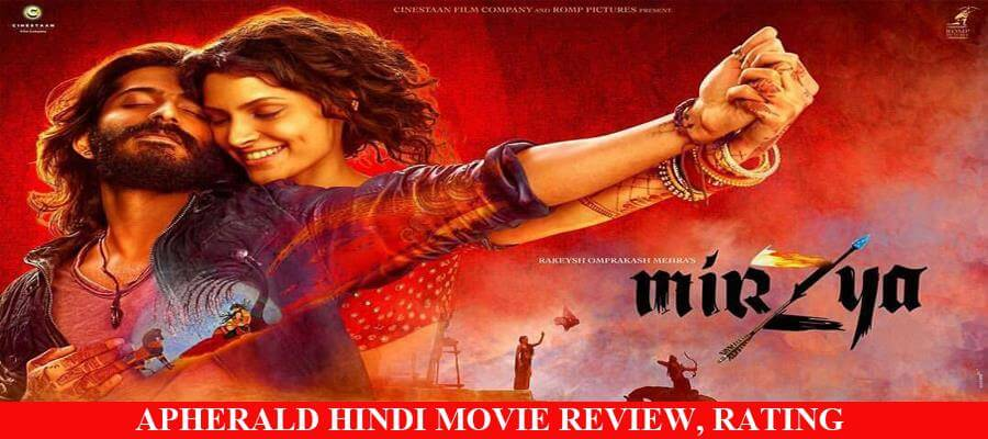 Mirzya Hindi Movie Review, Rating