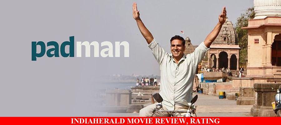 Padman Hindi Movie Review, Rating