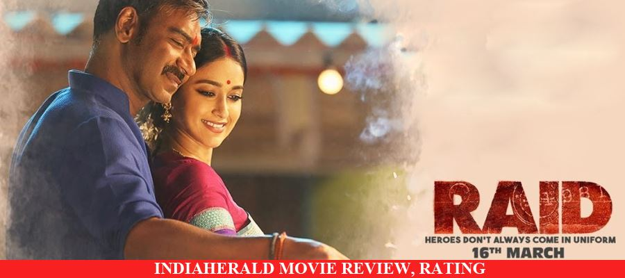 Raid Hindi Movie Review, Rating