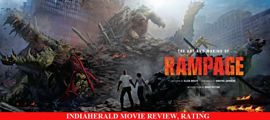 Rampage English Movie Review, Rating