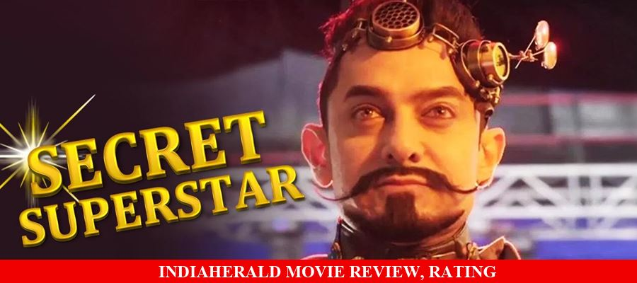 Secret Superstar Hindi Movie Review, Rating