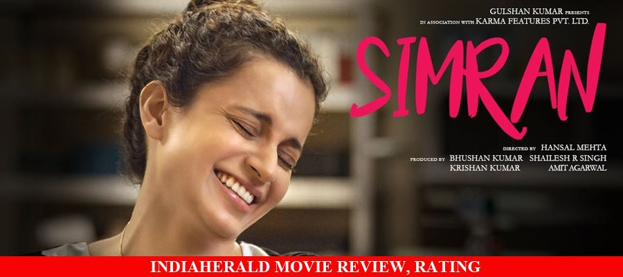 Simran Hindi Movie Review, Rating