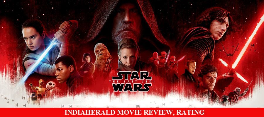 Star Wars: The Last Jedi Movie Review, Rating
