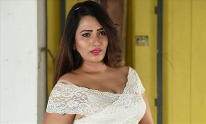 Sanjana Naidu Hot Cleavage Stills