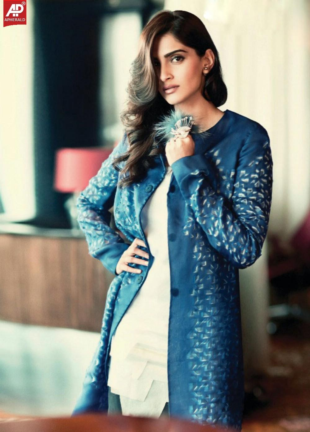 sonam kapoor latest hot femina photoshoot