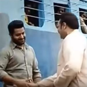 Aravinda sametha NTR Entry Scene In Train