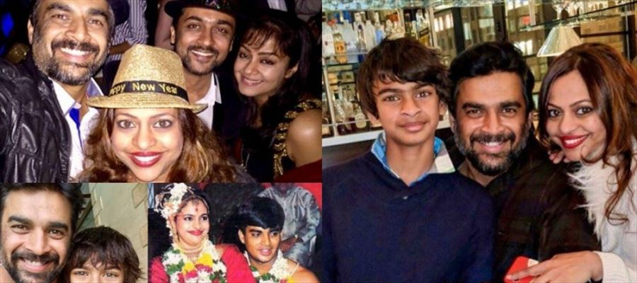 Actor Madhavan with family Rare & Unseen Childhood Photos