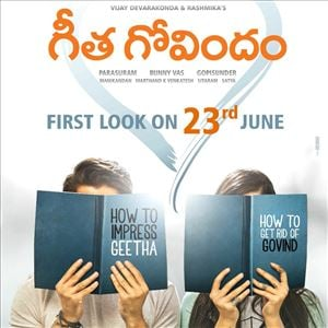 Geetha Govindam Movie First Look Posters