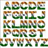 Independence Day Indian Alphabet Flag letters Tiranga Profile Pictures