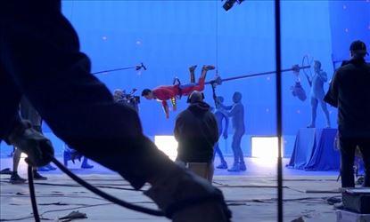 India Herald Exclusive Shazam Behind The Scenes Stills Set 1
