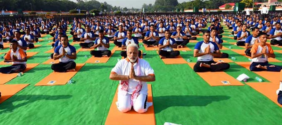 International Yoga Day 2018 Celebration Photos