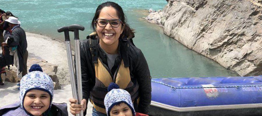 It's vacation time for Anchor Anasuya and Family Unseen Photos