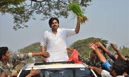 JanaSena Chief Pawan Kalyan rally from KothaGudem Khammam
