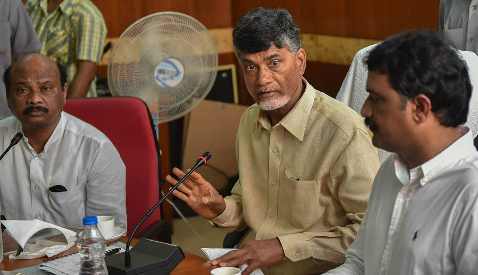 Sri NCBN visiting Cyclone effected areas in Vishakapatnam