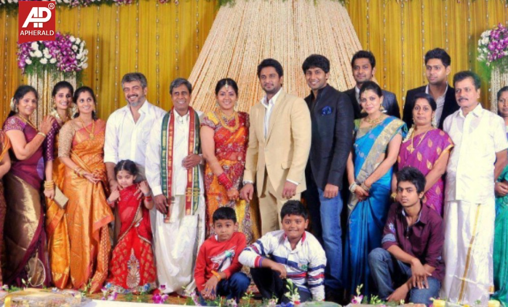 Tamil Actor Ajith Family Photos